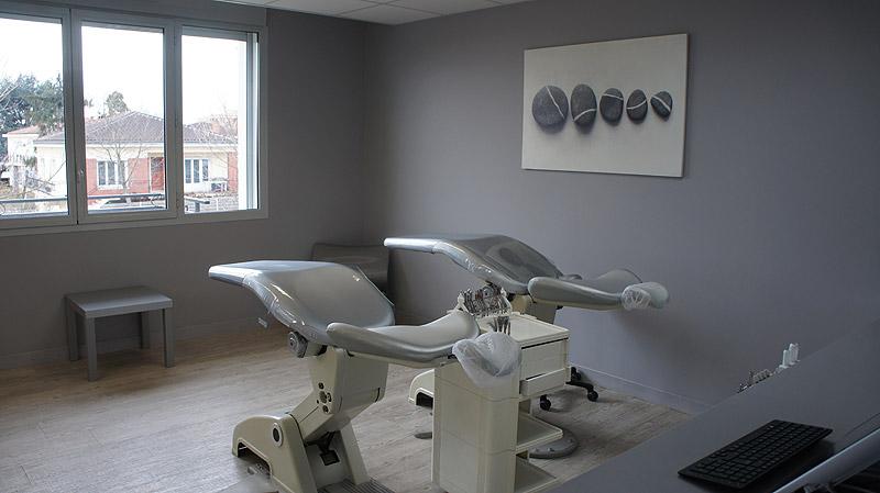 Salle patient